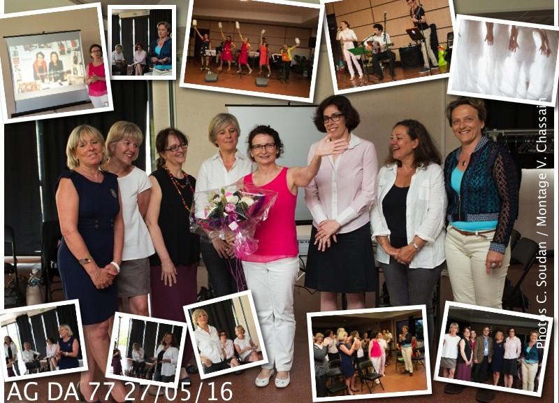 Images de l'AG du 27 mai 2016 de DA77