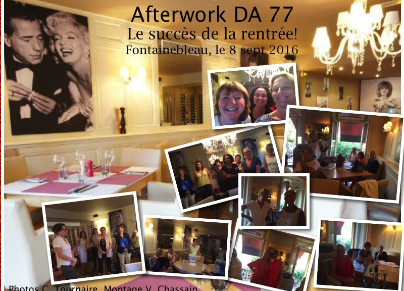 Photo d'ambiance de l'afterwork DA77